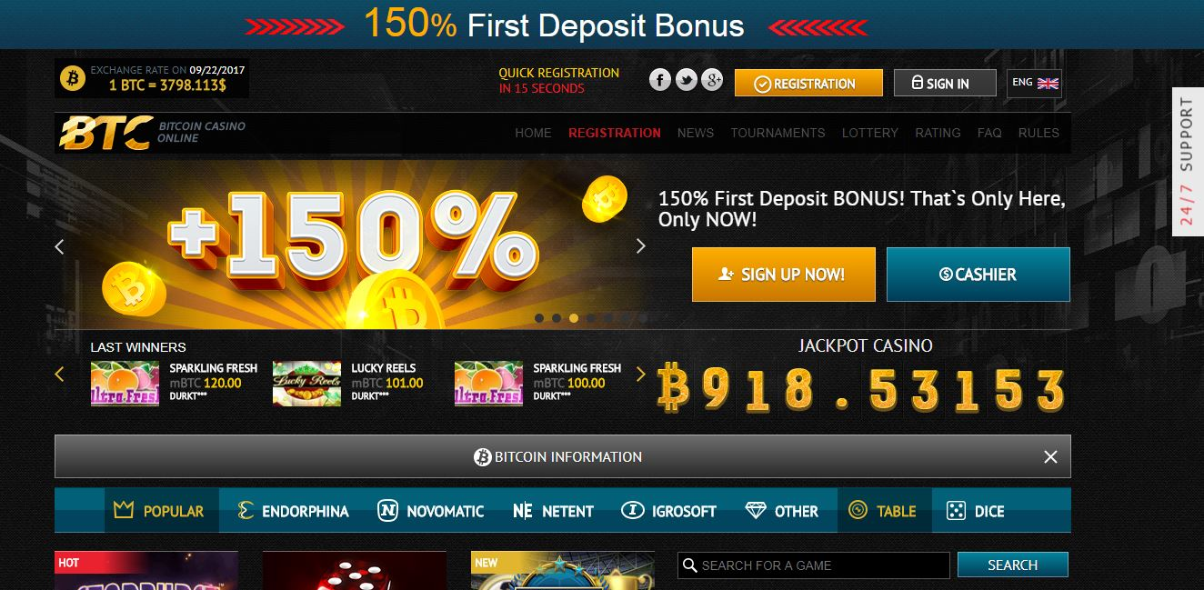 Sushi Bar bitcoin slots Playamo Casino slots for free